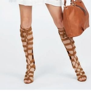 New Suede Gladiator Sandal Boot